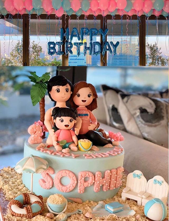 Hoa hậu Đặng Thu Thảo bất ngờ tiết lộ sắp sinh con thứ 2 - 4
