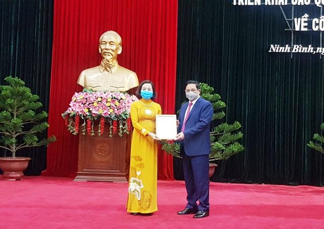 Chủ tịch Hội Liên hiệp Phụ nữ Việt Nam giữ chức Bí thư tỉnh Ninh Bình - 1