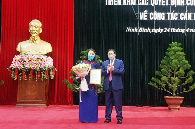 Chủ tịch Hội Liên hiệp Phụ nữ Việt Nam giữ chức Bí thư tỉnh Ninh Bình - 2