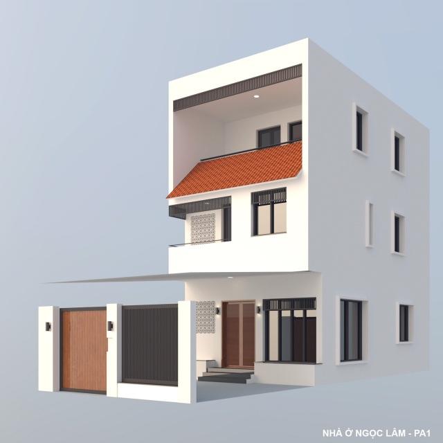 """Ngôi nhà nổi bật bởi kiến trúc """"lai"""" Đông - Tây trên phố Hà Nội - 13"""
