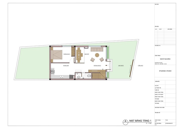 """Ngôi nhà nổi bật bởi kiến trúc """"lai"""" Đông - Tây trên phố Hà Nội - 14"""