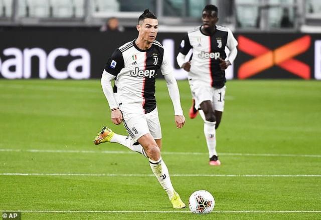 C.Ronaldo không bị cách ly 14 ngày khi quay lại Serie A thi đấu - 1