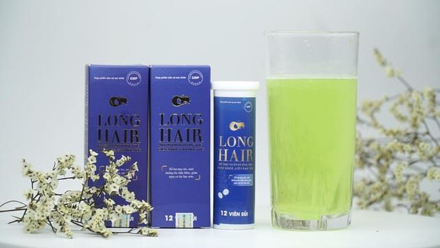 Viên sủi mọc tóc, hạn chế tóc bạc Long Hair - Bí quyết làm đẹp cho mái tóc của bạn - 4