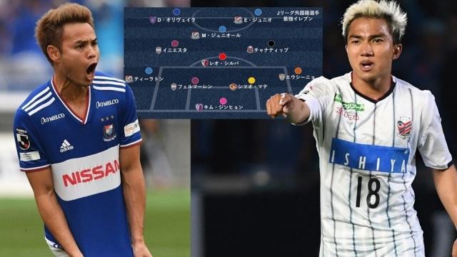 Chanathip, Theerathon được vinh danh cùng Iniesta ở giải Nhật Bản - 1