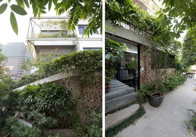 Hà Nội: Biệt thự 3 tầng phủ kín cây xanh đẹp lạ giữa lòng phố cổ - 4
