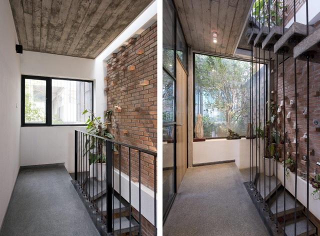 Hà Nội: Biệt thự 3 tầng phủ kín cây xanh đẹp lạ giữa lòng phố cổ - 5