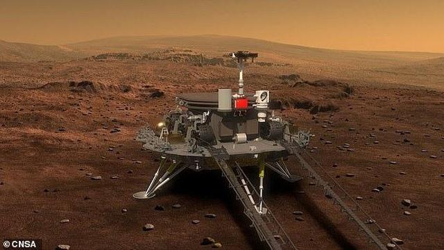 Nhiệm vụ thám hiểm sao Hỏa đầu tiên của Trung Quốc sẽ được gọi là Tianwen-1 - 1