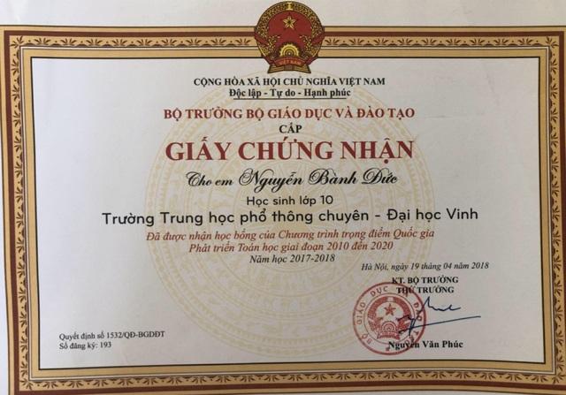 Nam sinh xứ Nghệ xuất sắc giành 15 học bổng trị giá hơn 43 tỷ đồng - 7
