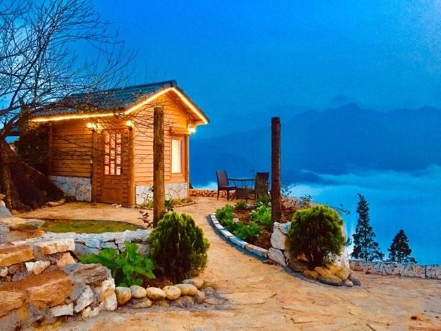 Đẹp hút hồn ngôi nhà gỗ săn mây vạn người mê trên núi cao ở Sa Pa - 10