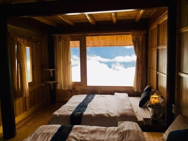 Đẹp hút hồn ngôi nhà gỗ săn mây vạn người mê trên núi cao ở Sa Pa - 4