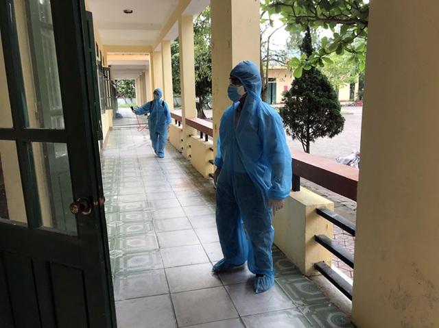 240 trường học trưng dụng cách ly y tế được làm sạch, sẵn sàng đón học sinh - 1