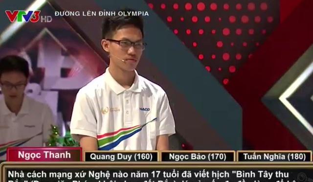 4 thí sinh liên tục đảo thế cờ trong cuộc thi Olympia tuần này - 1