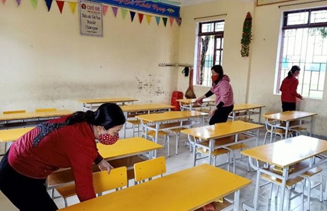 240 trường học trưng dụng cách ly y tế được làm sạch, sẵn sàng đón học sinh - 4