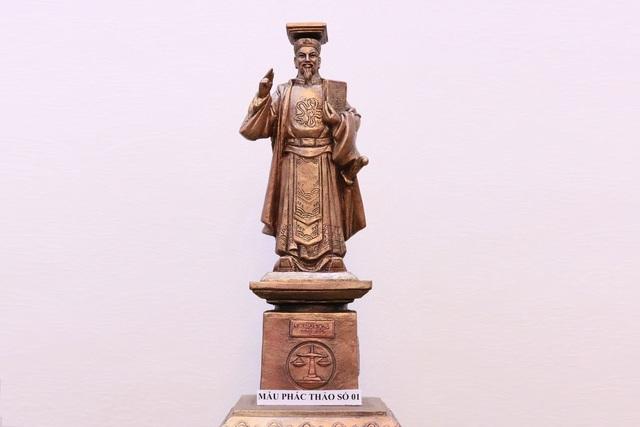 Ngành tòa án dựng tượng vua Lý Thái Tông làm biểu tượng công lý - 1