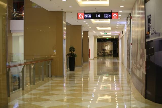 Hà Nội: Trung tâm thương mại vắng khách như đang.... cách ly xã hội! - 7