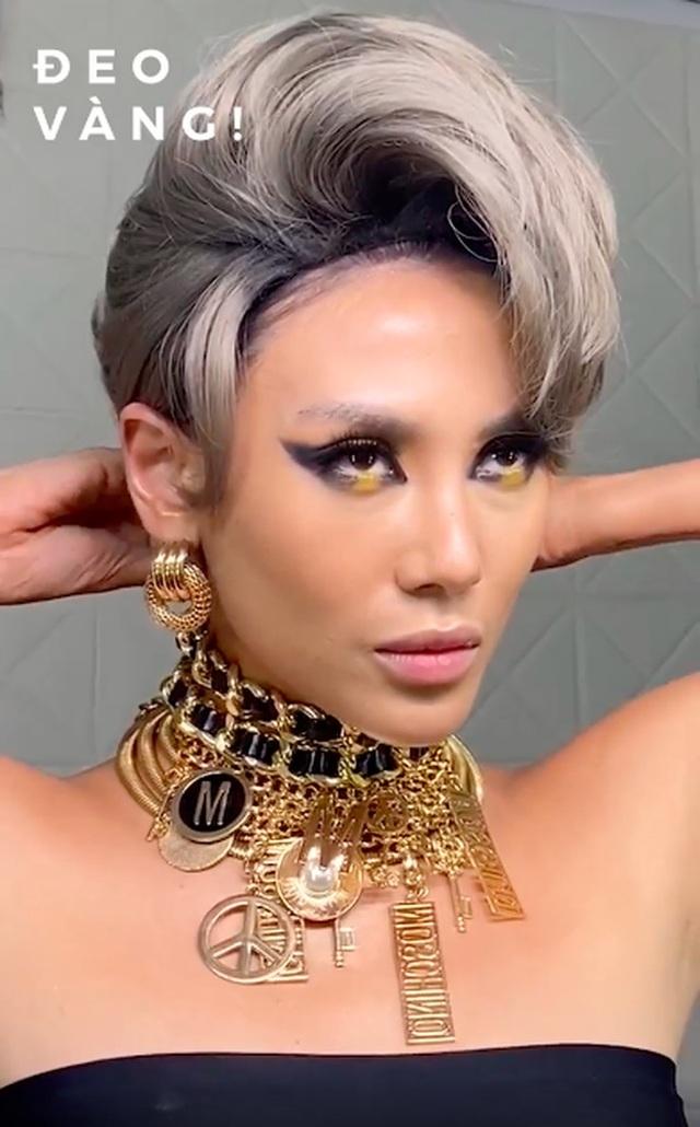 Hoa hậu, siêu mẫu diện đầm dạ hội… đi đổ rác - 4