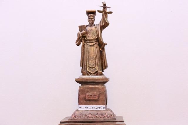 Ngành tòa án dựng tượng vua Lý Thái Tông làm biểu tượng công lý - 2