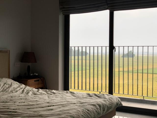 Biệt thự con trai xây tặng bố mẹ đẹp lạ giữa cánh đồng lúa chín ở Hà Tĩnh - 9