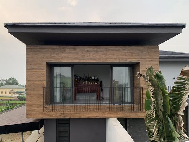 Biệt thự con trai xây tặng bố mẹ đẹp lạ giữa cánh đồng lúa chín ở Hà Tĩnh - 10