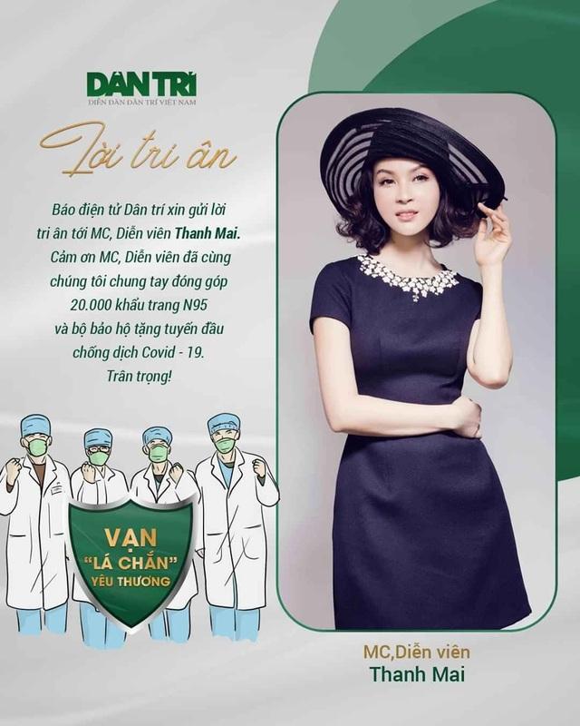Lao đao vì dịch, MC Thanh Mai vẫn oằn mình trả đủ lương cho 100 nhân viên - 11
