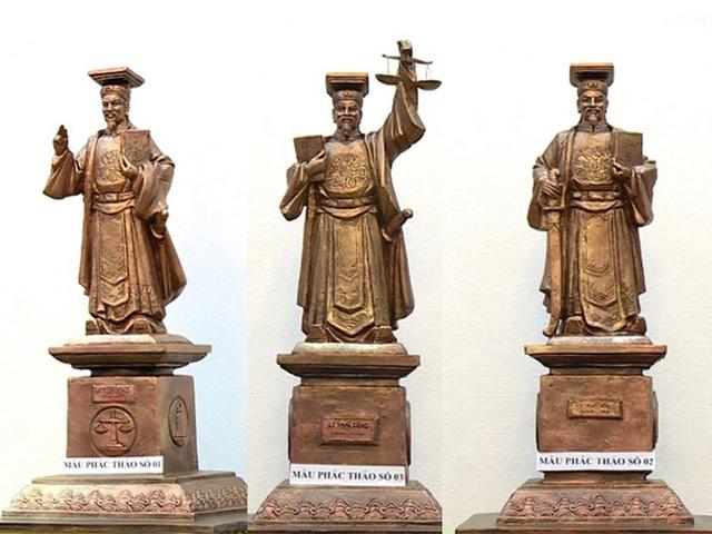 TAND Tối cao sẽ chỉ dựng 1 tượng vua Lý Thái Tông tại trụ sở mới - 2