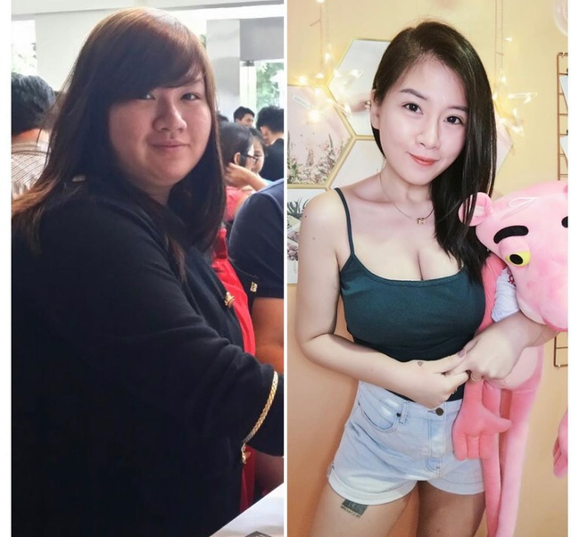 Từng nặng 122 kg, cô gái lột xác thành hot girl quyến rũ - 3