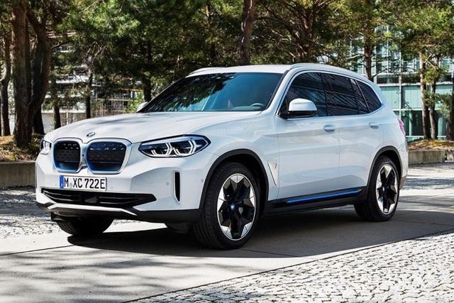 Hé lộ hình ảnh tân binh BMW iX3 - 1