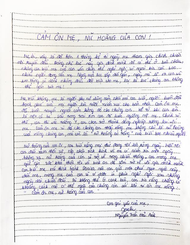 Lá thư tri ân người mẹ nơi tuyến đầu của nữ sinh trường Y gây xúc động - 1