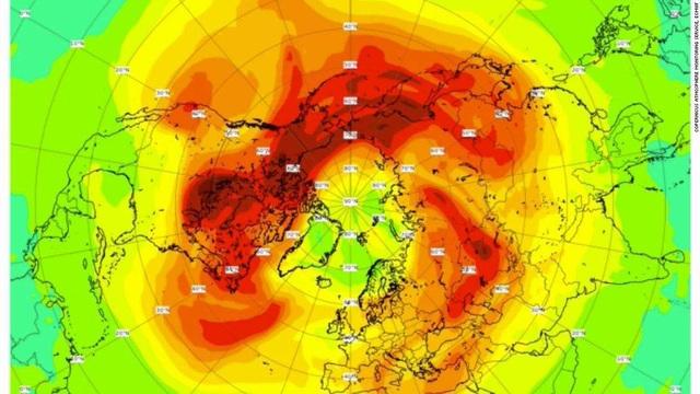 """Lỗ thủng tầng ozone lớn nhất từ trước đến nay ở Bắc Cực đã """"lành"""" lại - 1"""