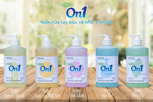 Sau gel rửa tay khô, On1 tiếp tục cho ra mắt sản phẩm nước rửa tay - 1