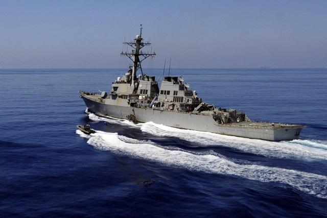 Tàu chiến Mỹ áp sát quần đảo Hoàng Sa, Trung Quốc xua đuổi - 1