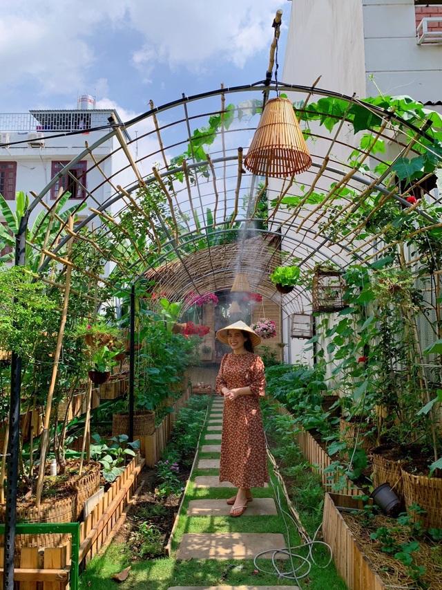 Bỏ 50 triệu đồng cải tạo vườn chuối thành khu sinh thái trong mơ - 4