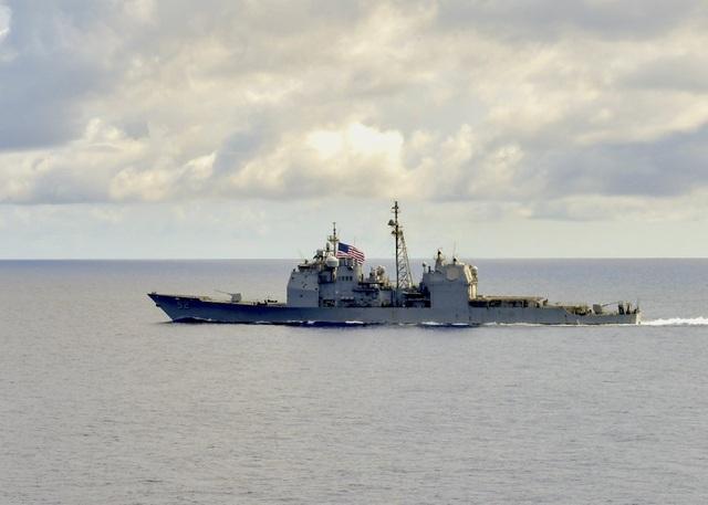 Tàu chiến Mỹ áp sát quần đảo Trường Sa - 1