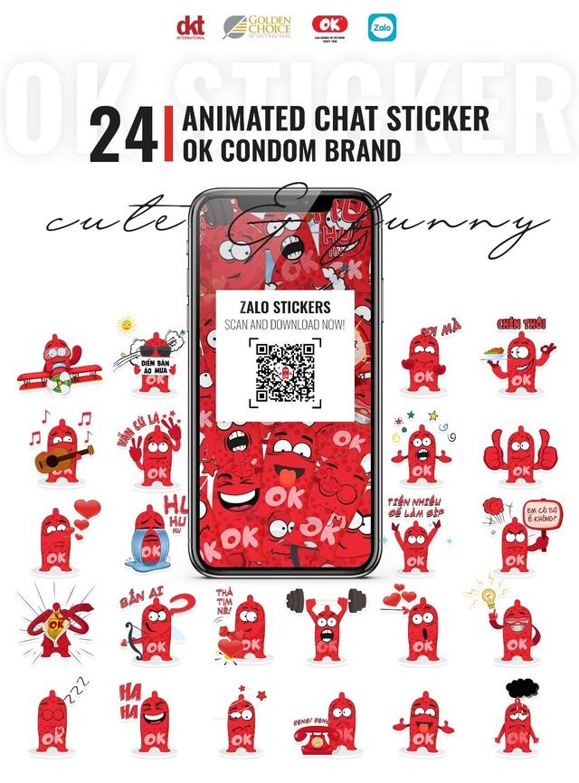 Bộ sticker của OK trên Zalo: Kỷ lục hơn 32 triệu lượt sử dụng - 1