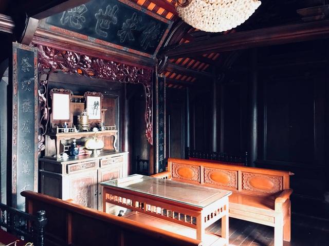 Cận cảnh nhà cổ trăm tuổi toàn bằng gỗ quý, đẹp hiếm có ở Nam Định - 8