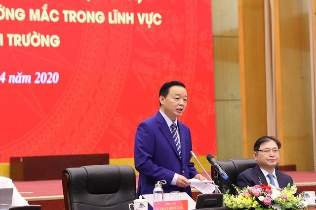 Bộ trưởng Trần Hồng Hà: Tỷ lệ bôi trơn khi làm thủ tục cấp sổ đỏ đã giảm - 1