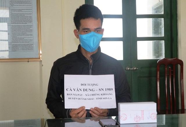 Bắt đối tượng vận chuyển 4.000 viên ma tuý từ Sơn La về Nam Định - 1