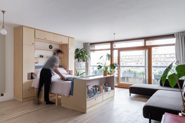 Nhà diện tích nhỏ biến hình kỳ diệu nhờ những món đồ nội thất thông minh - 3