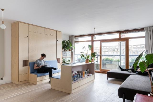 Nhà diện tích nhỏ biến hình kỳ diệu nhờ những món đồ nội thất thông minh - 4