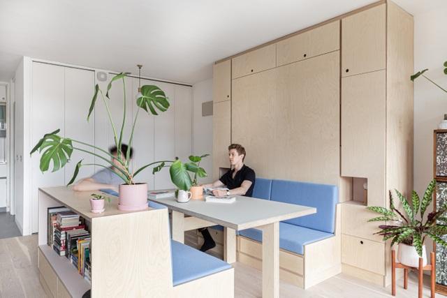 Nhà diện tích nhỏ biến hình kỳ diệu nhờ những món đồ nội thất thông minh - 5