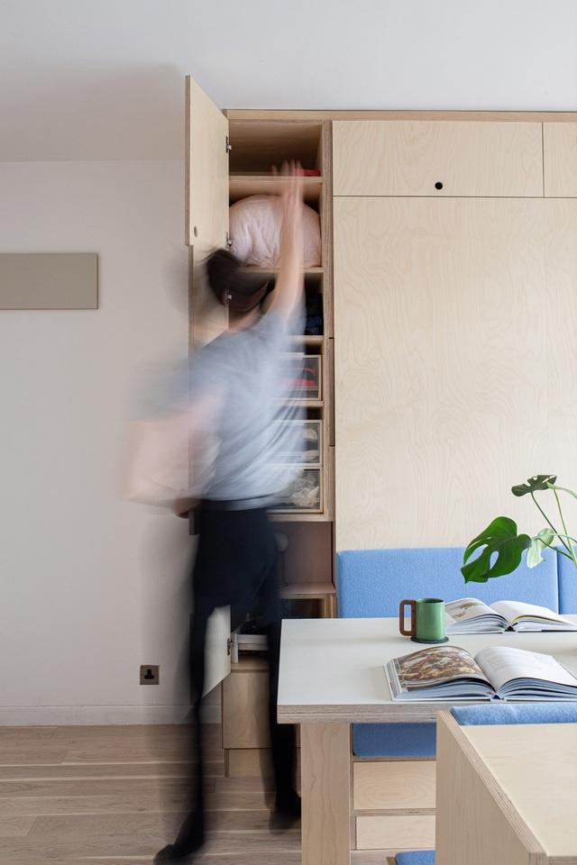 Nhà diện tích nhỏ biến hình kỳ diệu nhờ những món đồ nội thất thông minh - 6