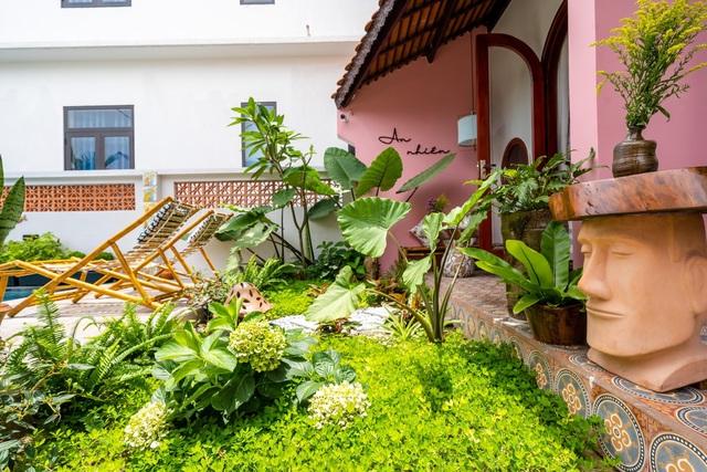 Chủ nhà ở Hội An chi 1,7 tỷ đồng xây dựng nhà phố sân vườn đẹp nên thơ - 3