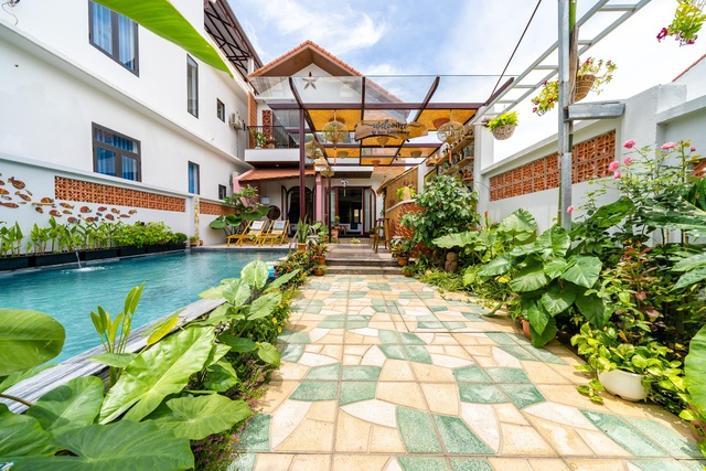 Chủ nhà ở Hội An chi 1,7 tỷ đồng xây dựng nhà phố sân vườn đẹp nên thơ - 11