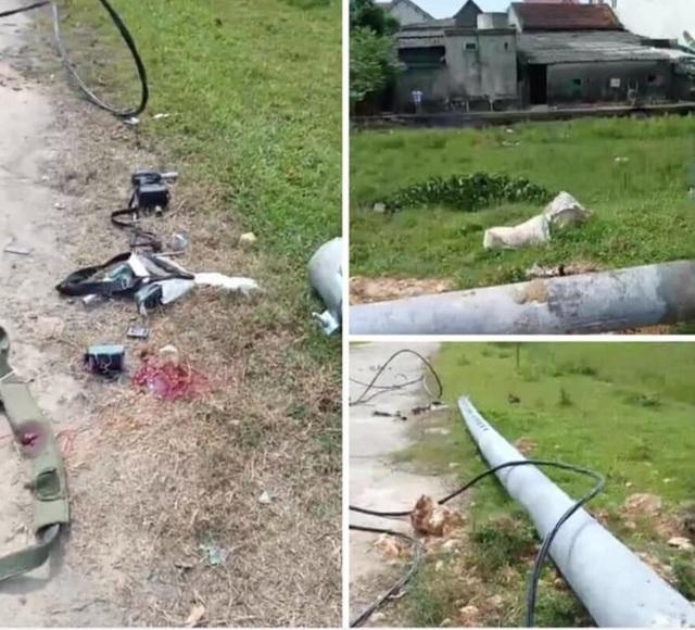 Hà Tĩnh yêu cầu làm rõ vụ cột điện đổ đè chết nam công nhân - 1