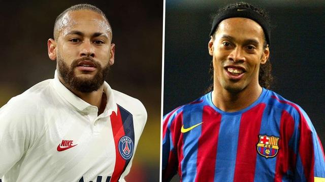 """""""Neymar ở cùng đẳng cấp với Ronaldinho"""" - 1"""
