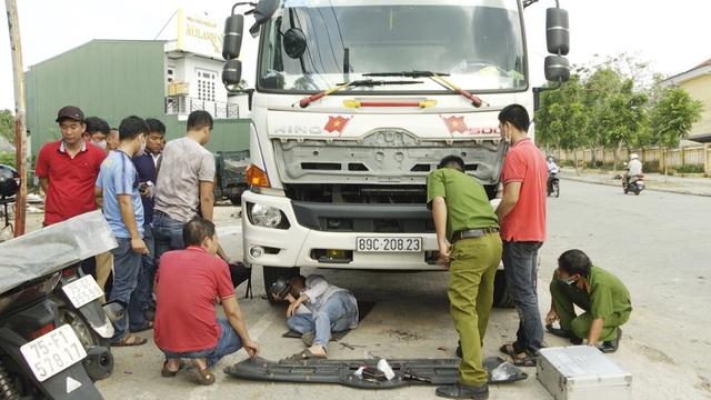Bắt tài xế xe tải tông chết người rồi bỏ trốn - 1