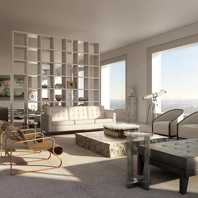 Cuộc sống xa xỉ trong căn penthouse 1.900 tỷ tại chung cư cao nhất New York - 5