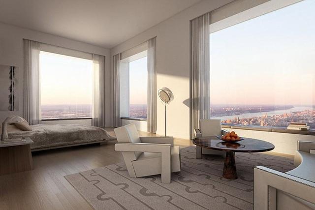 Cuộc sống xa xỉ trong căn penthouse 1.900 tỷ tại chung cư cao nhất New York - 6