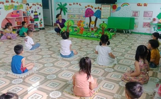 Ký hiệu giãn cách cho trẻ Mầm non bằng các tấm xốp - 4