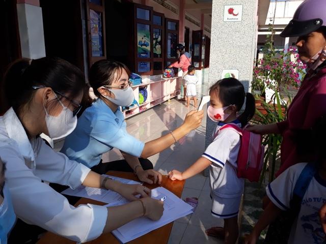 Hàng triệu học sinh đi học trở lại, nhà trường tích cực phòng ngừa dịch - 11